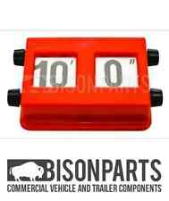 COMMERCIAL IMPERIAL HEIGHT INDICATOR FOR TRUCK & TRAILER, CV, LCV, BUS BP76-002