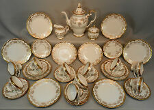 10 Pers. Kaffeeservice Service Weimar Katharina Gold Vollbarock 33 tlg. Castell