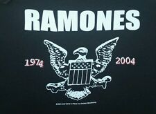 "VTG THE RAMONES EAGLE SWEATSHIRT Hoody 1974 to 2004  OUT OF PRINT 45"" Chest HTF"