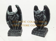 Set of Two Miniature Chimera Gargoyle Collection Sculpture Figure Home Decor