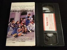 CAMPUS GIRLS RARE OOP COLLEGE VHS! NEVER ON DVD! VINA MORALES! PHILIPINES FILM!