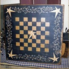 PRIMITIVE SIGN~~GAME BOARD~ CHECKERS~~VINES~~STARS~~