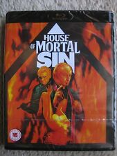HOUSE OF MORTAL SIN (1976) (Blu-Ray) PETER WALKER -  BRAND NEW, FACTORY SEALED!!