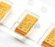20PCS 6032 Case C 10uF 35V SMD SMT Tantalum Chip Capacitors