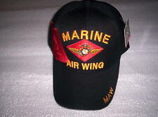 Us-militäry base cap Marine Air Wing