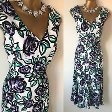 CC DRESS SIZE 12 Party RACES Occasion Evening Mother Of Bride Summer Sun.