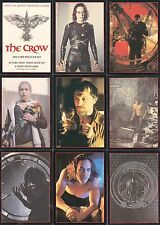 THE CROW MOVIE 1994 KITCHEN SINK PRESS COMPLETE BASE CARD SET OF 100