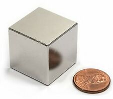 N52 1 Inch Cube Powerful Neodymium Rare Earth Magnet High Quality ISO 9001 Flat