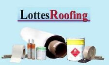 15' x 20' WHITE 60 mil  EPDM Rubber Roofing Kit COMPLETE - 300 sq.ft