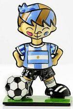 ROMERO BRITTO World Cup Soccer Player - ARGENTINA Mini Sculpture Figurine *NEW*