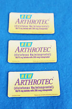3 ARTHROTEC MAGNETS - USED - PHARMACEUTICAL GIVE-AWAY