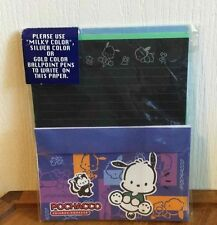 Sanrio POCHACCO 1998 Friends Forever Stationary Set Paper Envelopes Stickers