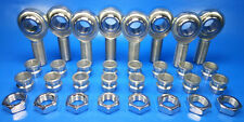 "1/2"" 4-Link Rod End Kit w/ 1/2""- 3/8"" High Misalignment Spacers, Heim Joints"
