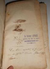 1793 Paris doctor AUVARD copy French Medical Dictionairy PORTATIF de MéDECINE