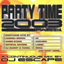 NEW - Party Time 2003: Part 1 by Various Artists