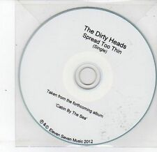 (DS438) The Dirty Heads, Spread Too Thin - 2012 DJ CD