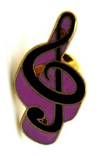 Pin Spilla Chiave Di Violino cm 1,5 x 2,9 - (Future Primitive Made In Usa)