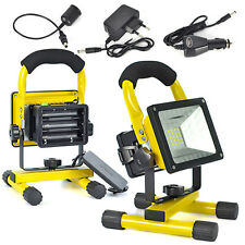 360° Adjustable 10W 24 LED Work Light Flood Lamp Outdoor Hunting Rechargeable
