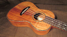 Kaka'ako Acacia Ukulele - K2 Tenor - Abalone Shell & Mother of Pearl Inlays