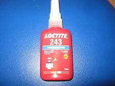 Loctite 243 Threadlocker Brand New Medium Strength Part No. 44092 50 ml