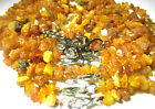 100% Authentic Raw Baltic Amber Dog Collars . Choose size! 8-27.5 inches