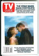 TV GUIDE 5/02, rare US TV digest size mag, Star Wars 1 of 3 with LENICULAR COVER