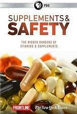 Frontline: Supplements and Safety (DVD, 2016) PBS