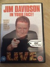 Jim Davidson - In Your Face (DVD, 2006)