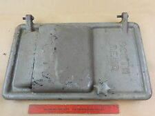 NICE ORIGINAL SOUTH BEND 13 LATHE METAL BENCH BASE MOTOR DOOR COVER & HINGE PINS