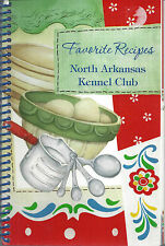 *HARRISON AR 2011 NORTH ARKANSAS KENNEL CLUB COOK BOOK *DOG LOVERS *RECIPES