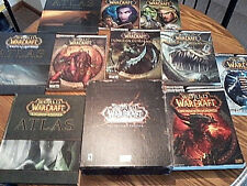 WorldofWarcraft Blizzard Strategy Guide Atlas Dungeon Cataclysm Lich King WoW