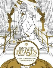 Fantastic Beasts and Where to Find Them Harry Potter Adult Colouring Book