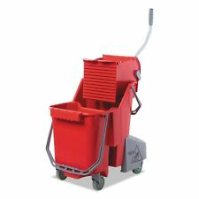 Unger Side-Press Restroom Mop Bucket Combo  - UNGCOMBR