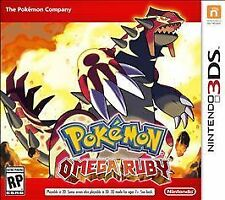 Pokemon Omega Ruby Nintendo 3DS New Video Game Pocket Monsters 2DS XL