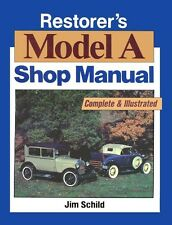1928 1929 1930 1931 Ford Model A Mechanic Workshop Service Repair Manual Book