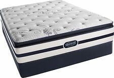 Simmons Beautyrest Recharge Full Size Plush PillowTop Mattress & Boxspring Set