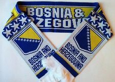 Bosnia & Herzegovina Football Scarves NEW from Superior Acrylic Yarns