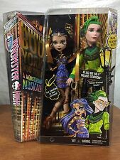 Monster High Doll Boo York Cleo De Nile And Deuce Gordon