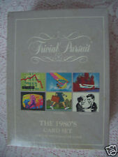 Trivial Pursuit The 1980's Subsidiary Trivia Card Set  Use with Master Game