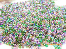 8/0 Heather Mix Miyuki Glass Round Seed Beads 10 Grams