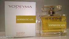 PROFUMO YODEYMA DONNA SOPHISTICATE Eau de Parfum 100ml. SCONTATO a MILANO