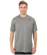 Nike Legend Poly Dri-Fit Men's Running Training Grey Heather T-Shirt Size L