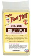 Bob's Red Mill Whole Grain Millet Flour 500g *GLUTEN, WHEAT & DAIRY FREE*