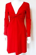 Valentino Tecnocouture Red Bow Dress 42 uk 10