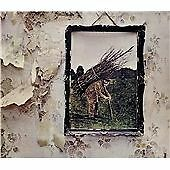 LED ZEPPELIN IV CD REMASTERED JIMMY PAGE 2014 STAIRWAY TO HEAVEN BLACK DOG MINT