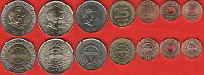 Philippines set of 7 coins: 1 sentimo - 10 piso 2002-2011 UNC