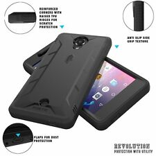 POETIC Dust Resistant w/ Built-In Screen Protector Case for BLU R1 HD Black New