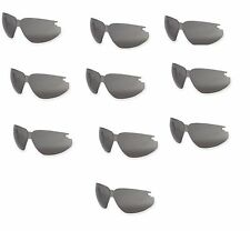 10 Pack Uvex / Sperian S6951X Genesis XC Eyewear Replacement Gray Lens