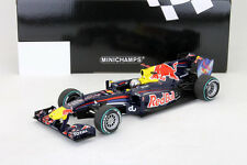 S. Vettel Red Bull RB6 Formula 1 World champion Abu Dhabi GP 2010 1:18