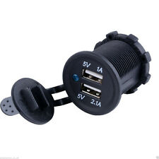 Portable Car Cigarette Lighter Splitter Socket 12V 5V Charger USB Power Adapter